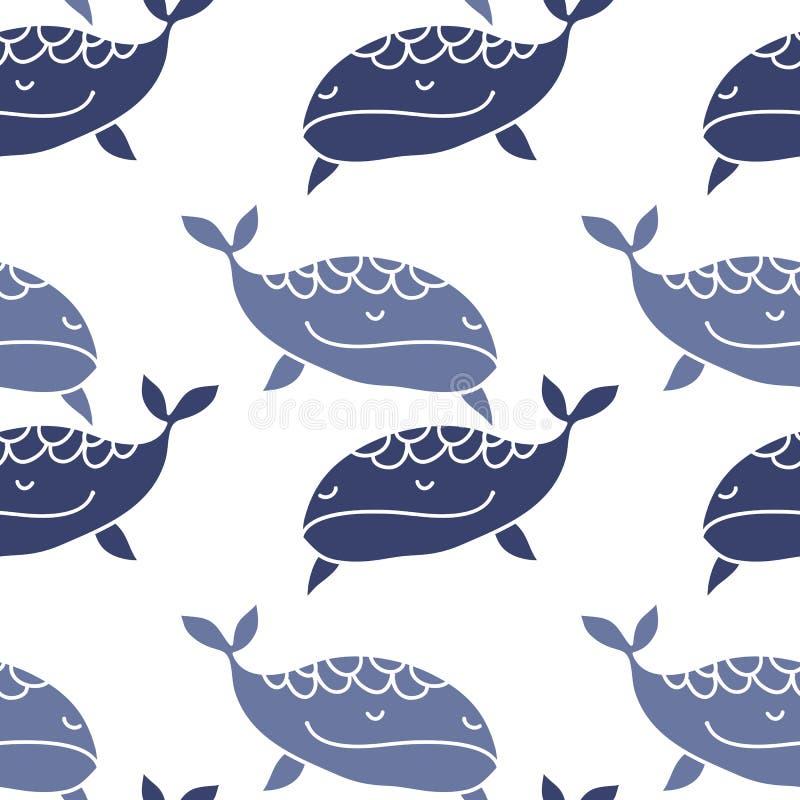 Val pattern5 royaltyfri illustrationer