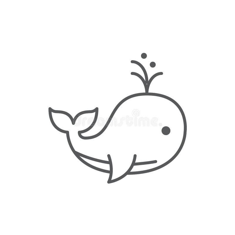 Val producera en linje perfekt symbol för vattenspringbrunn för redigerbart PIXEL som isoleras på vit bakgrund stock illustrationer
