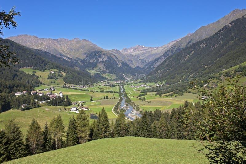 Val Ridanna - Ridnauntal (alto Adige) photographie stock