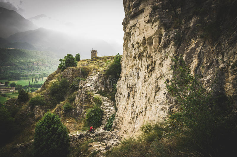Val Susas Landschaften stockfoto