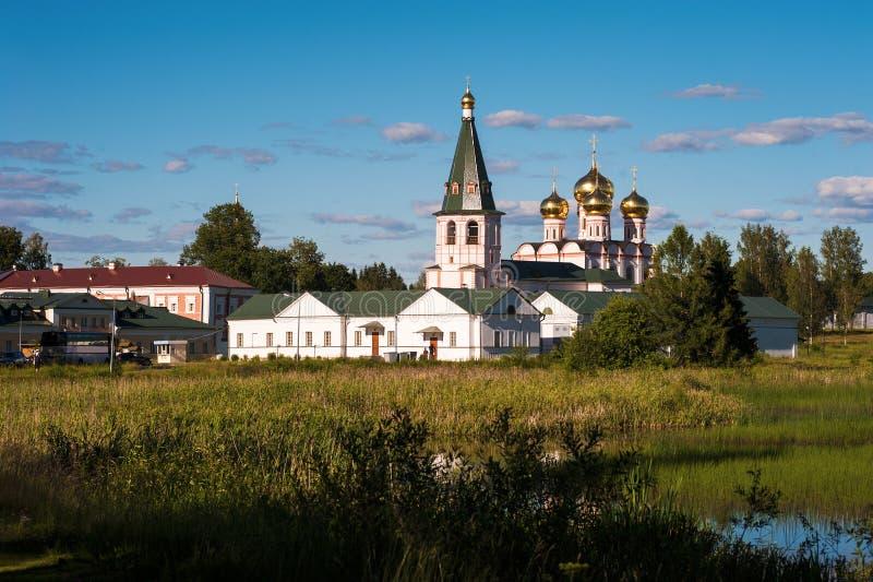 Valday Iversky Kloster Fotografering för Bildbyråer