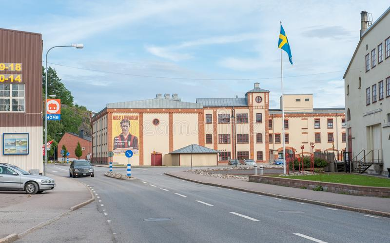 Valdemarsvik, Suécia imagens de stock royalty free