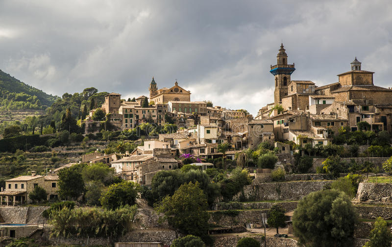 Valdemossa, Mallorca, Hiszpania zdjęcie stock