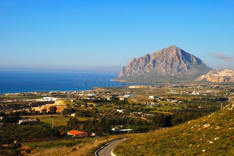 Valderice - Trapan (Sicilia) imagen de archivo libre de regalías