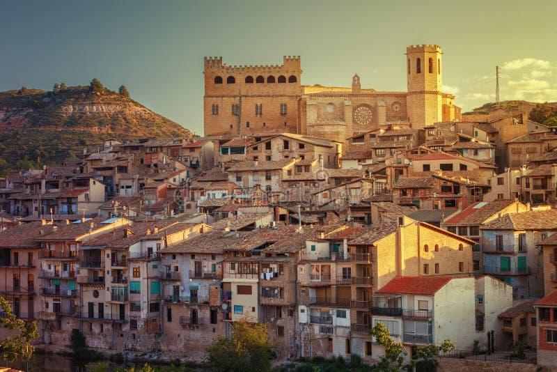 Valderrobres medieval village of the 12th century, Matarrana dis. Trict, Teruel province, Aragon, Spain stock image