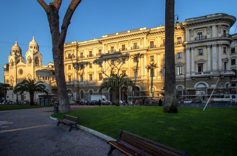 Valdese Ewangelicki kościół przy piazza Cavour w Rzym zdjęcie royalty free