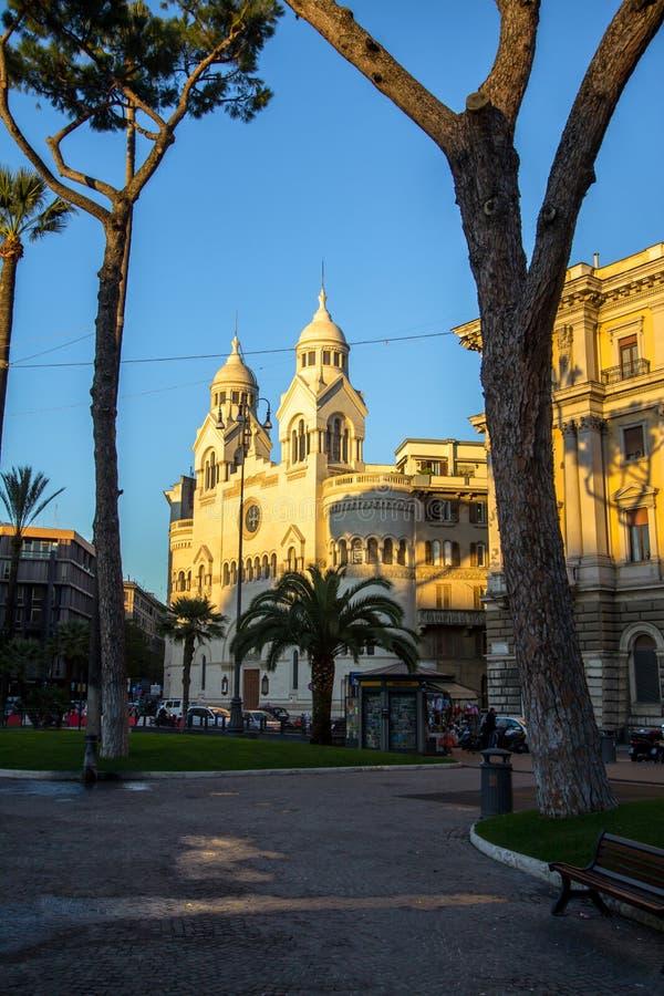 Valdese Ewangelicki kościół przy piazza Cavour w Rzym obrazy royalty free