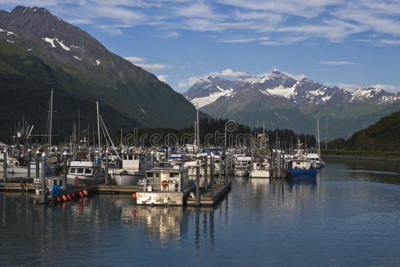 Download Valdez, Alaska Harbor stock photo. Image of marina, port - 12176292