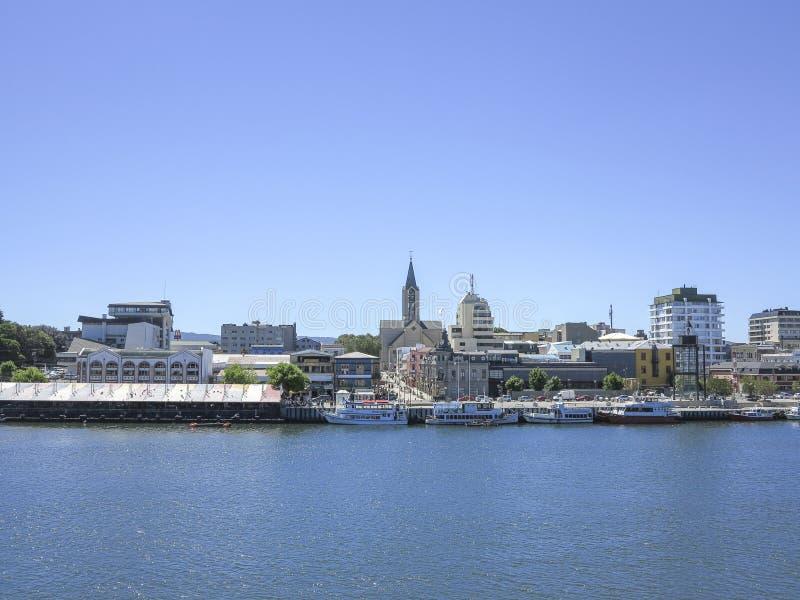 Valdivia, Chile imagen de archivo libre de regalías
