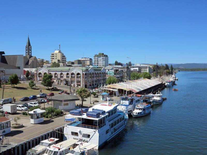 Valdivia, Chile foto de archivo