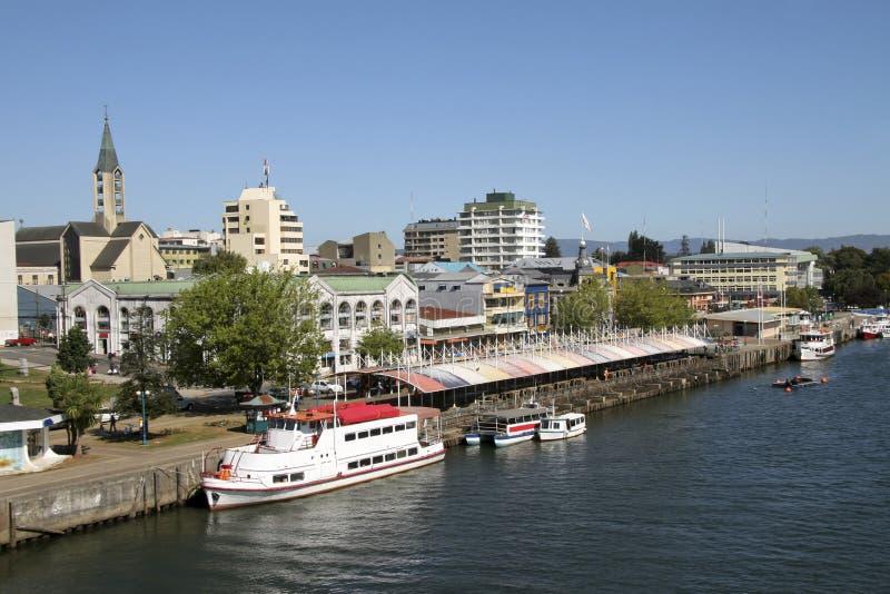 Valdivia, o Chile fotos de stock