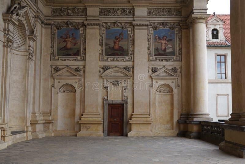 valdstejn prague дворца стоковое фото