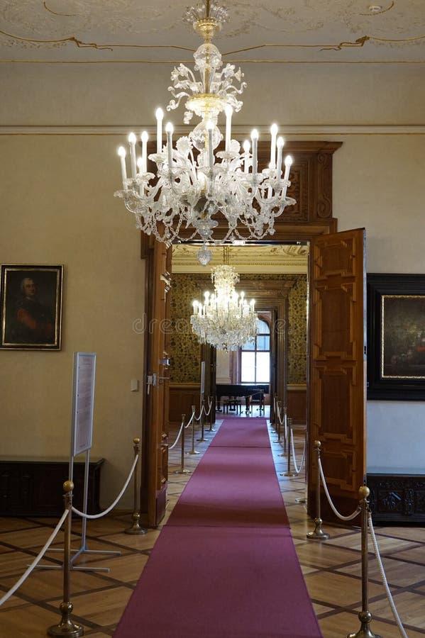 valdstejn prague дворца стоковое изображение