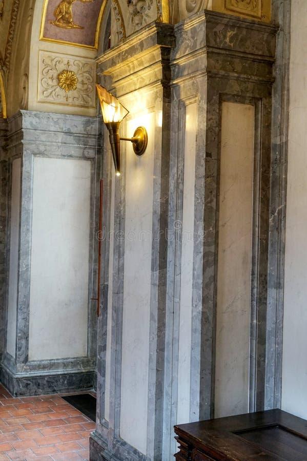 valdstejn prague дворца стоковая фотография