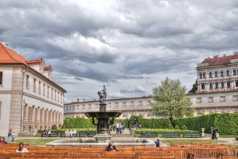 valdstejn prague дворца стоковые изображения rf