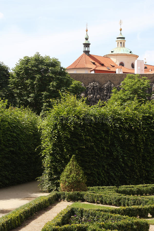 Valdstejnska Zahrada стоковое фото