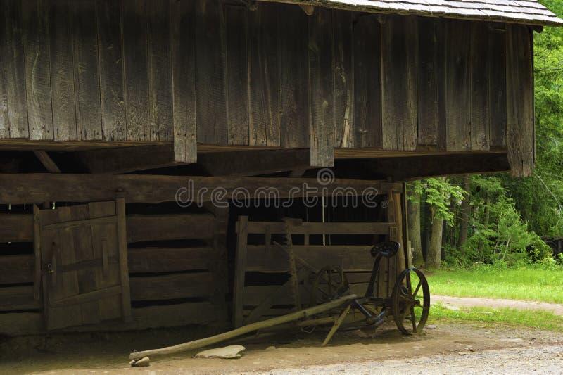 Vale da angra de Cades em Tennessee Smoky Mountains fotografia de stock royalty free