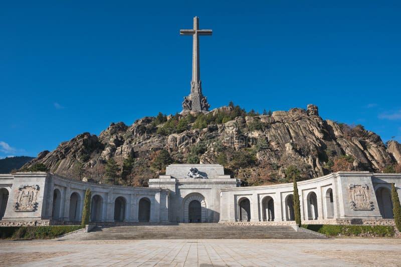 Vale da caída, Madri, Espanha fotografia de stock royalty free