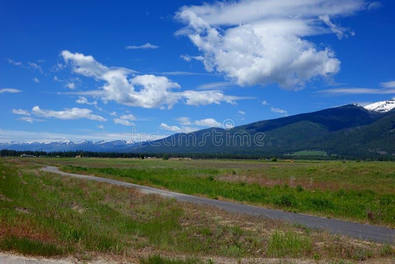 Vale da montanha do Bitterroot - Montana imagens de stock royalty free