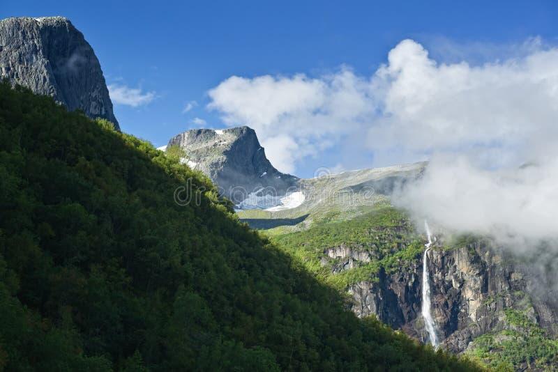Vale de Briksdal fotos de stock royalty free