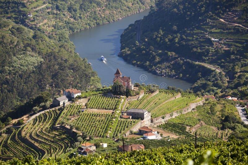 Vale de Douro fotos de stock