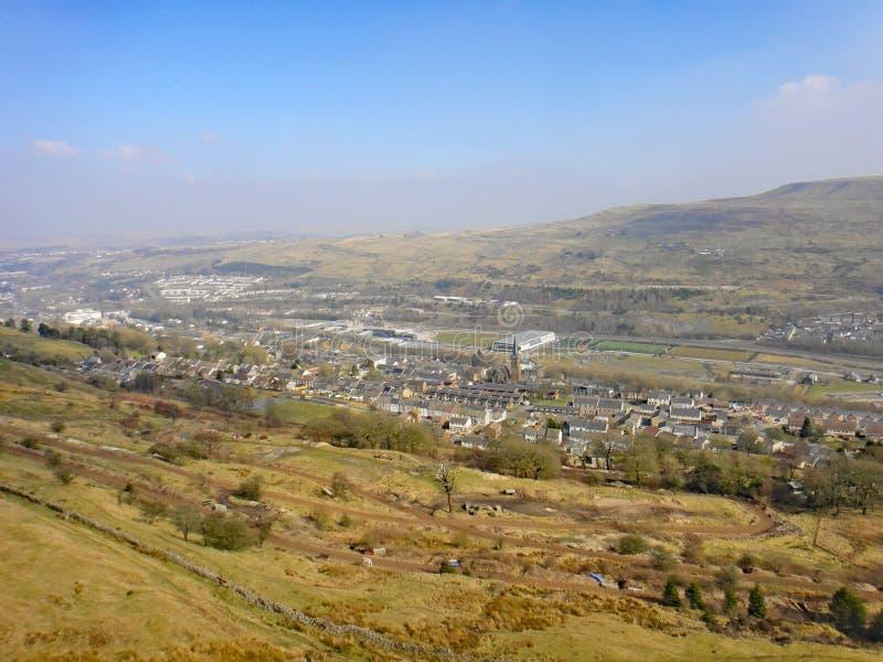 Vale de Ebbw, Gales foto de stock royalty free