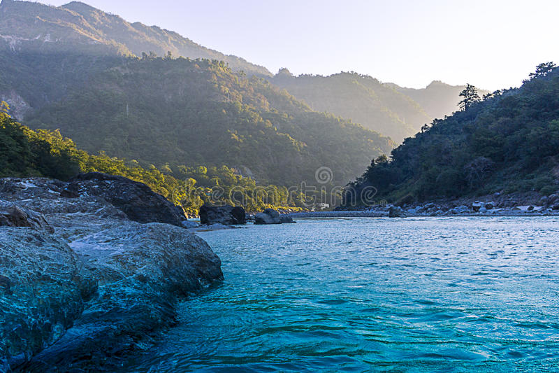 Vale de Rishikesh fotos de stock royalty free