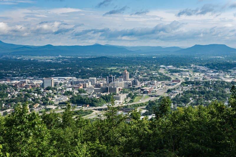 Vale de Roanoke, EUA fotografia de stock royalty free