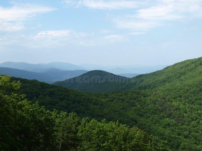 Vale de Shenandoah em Virgínia - EUA imagem de stock