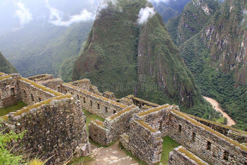 Vale de Urubamba de Machu Picchu fotos de stock