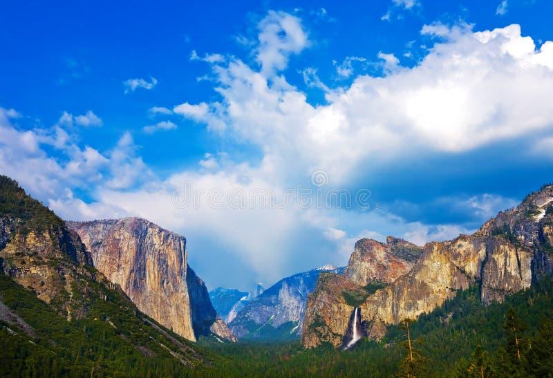 Vale de Yosemite imagens de stock
