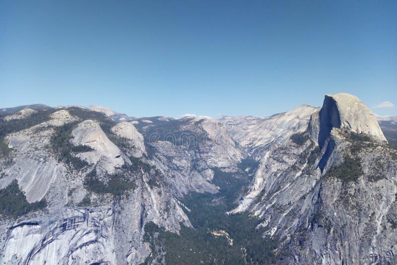 Vale de Yosemite, parque nacional de Yosemite, Califórnia, EUA foto de stock