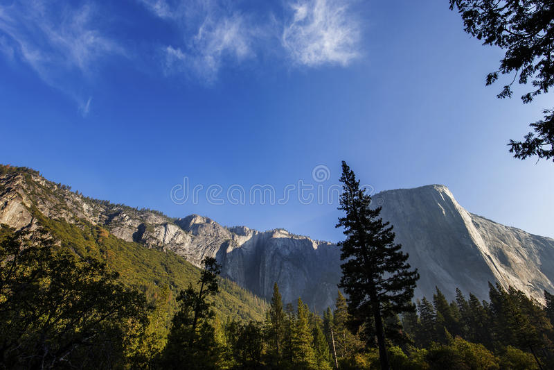 Vale de Yosemite, parque nacional de Yosemite, Califórnia, EUA fotografia de stock royalty free