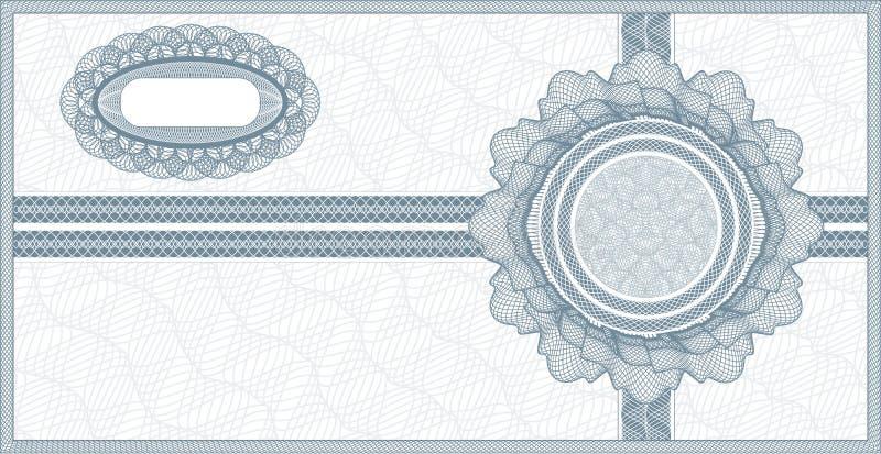 Vale del guilloquis stock de ilustración