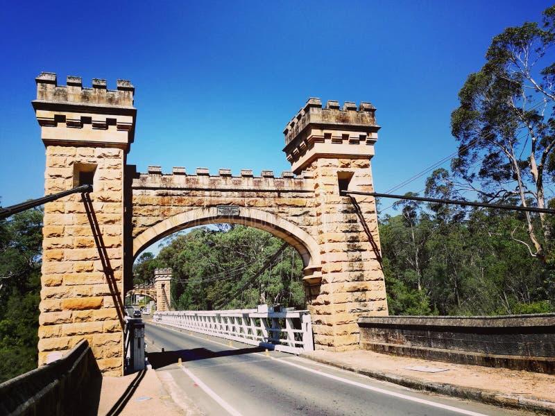 Vale do canguru da ponte de Hampden @ fotografia de stock