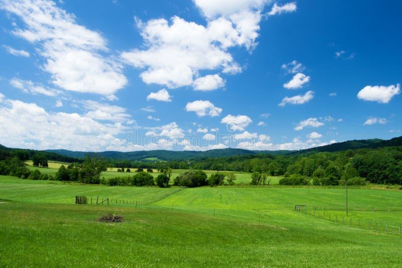 Vale do Catawba da paisagem fotos de stock