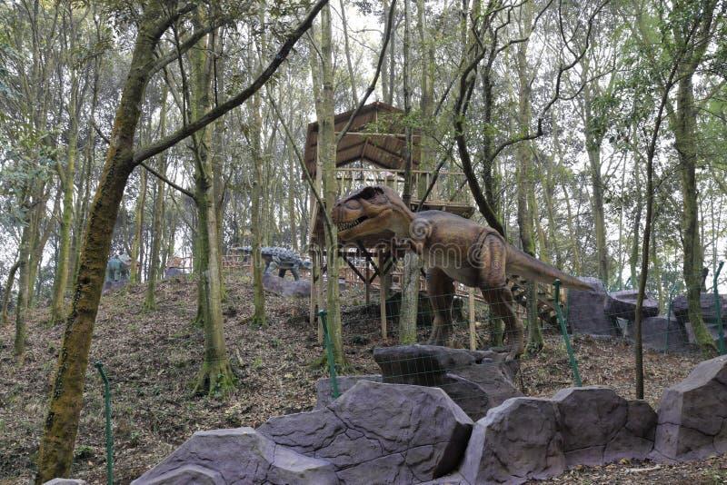 Vale do dinossauro imagens de stock