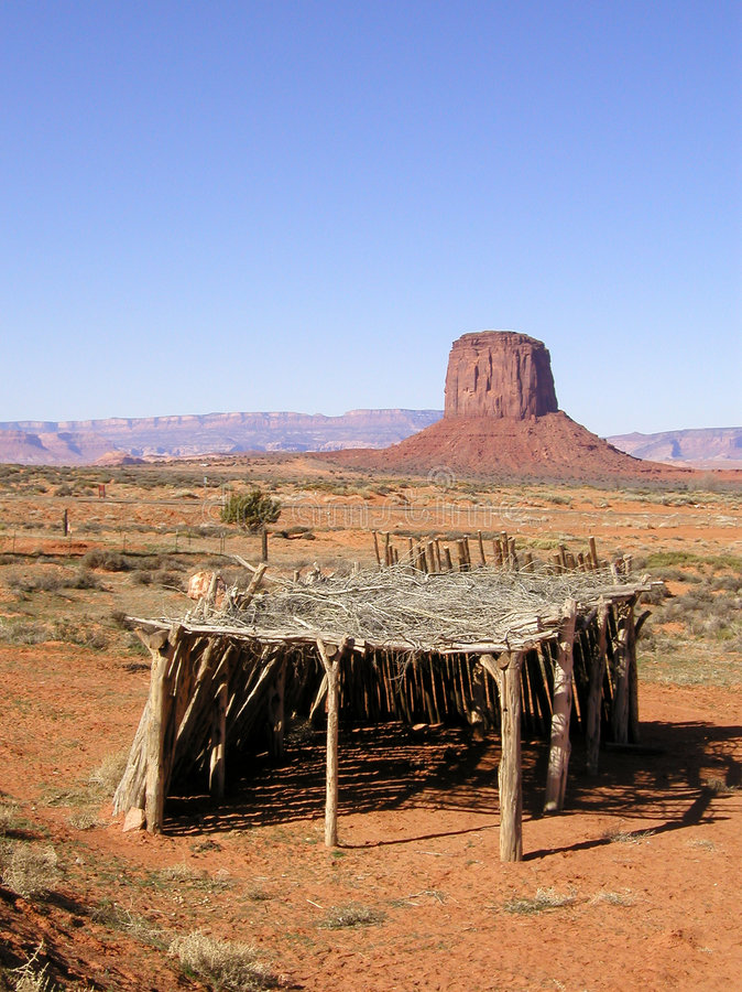Vale do monumento: Indicador do Navajo foto de stock royalty free