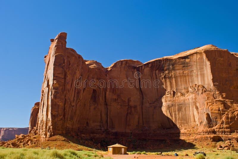 Vale do monumento, o Arizona fotografia de stock