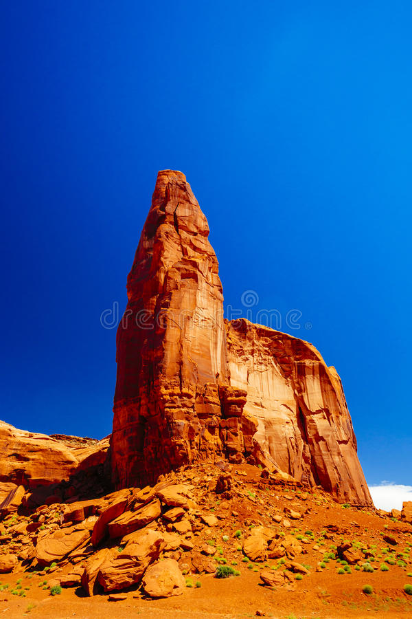 Vale do monumento, parque tribal do Navajo, o Arizona, EUA imagem de stock royalty free