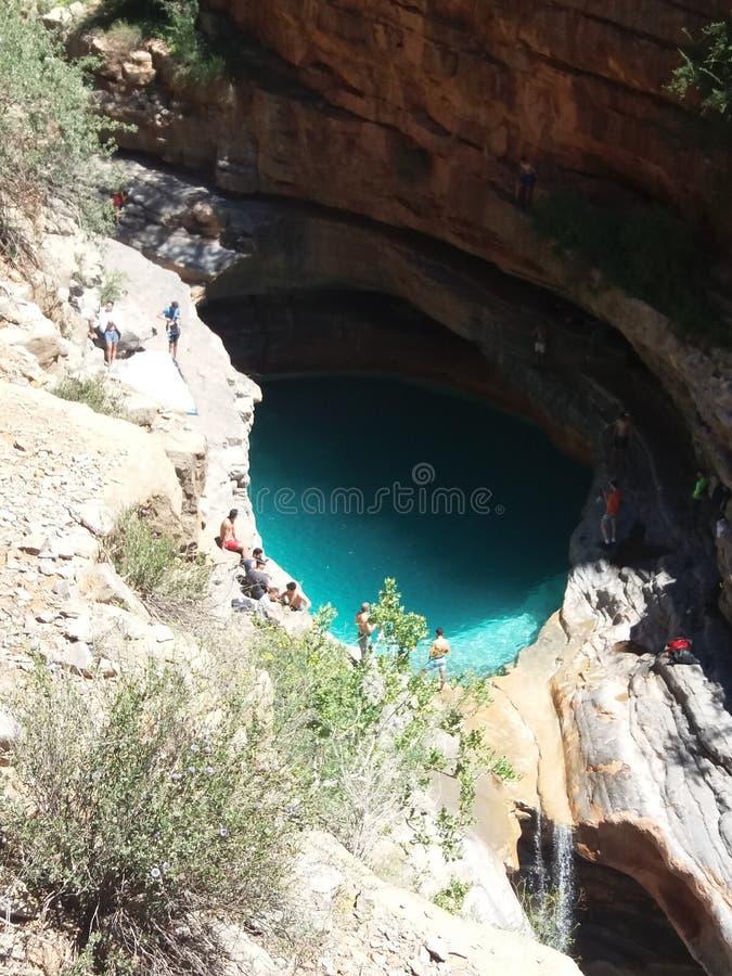 Vale do paraíso da cascata um agadir Marrocos 4 foto de stock royalty free