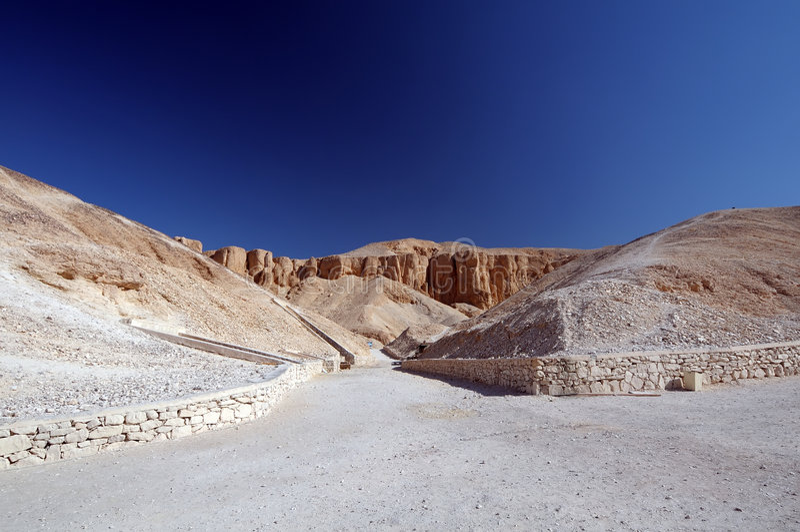 Vale dos reis Egipto fotografia de stock royalty free