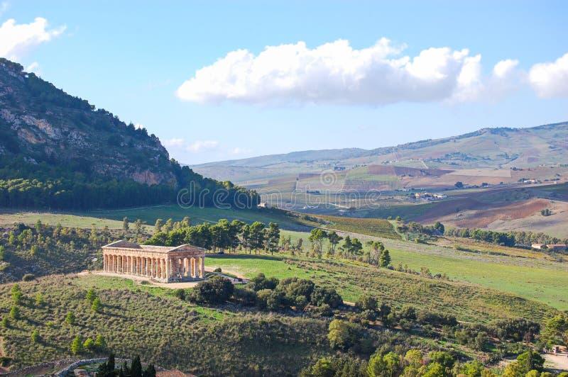 Vale dos templos de Agrigento foto de stock