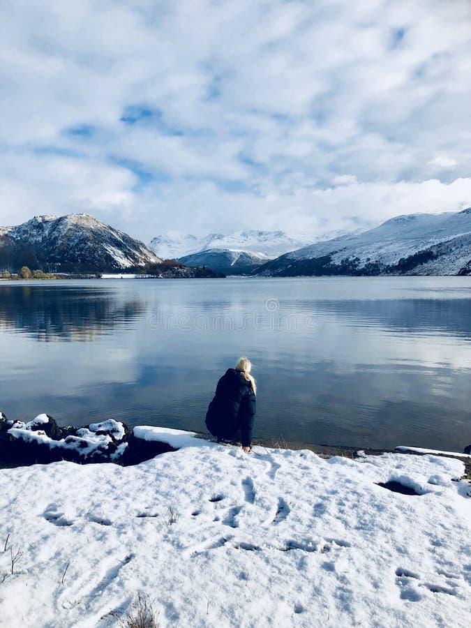 Vale e lago de Ennerdale foto de stock royalty free