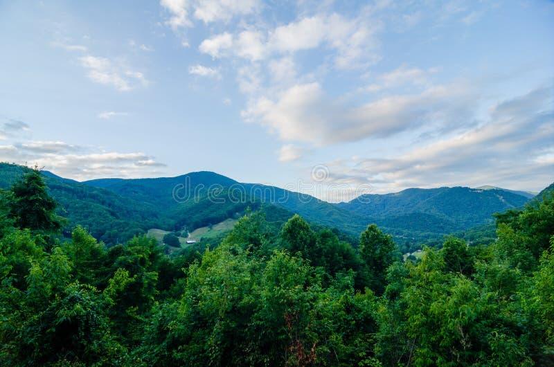 Vale perto do vale North Carolina do maggie imagem de stock royalty free