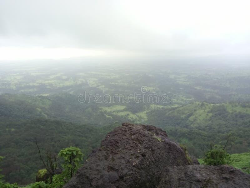 Vale profundo india de Ghatghar foto de stock royalty free
