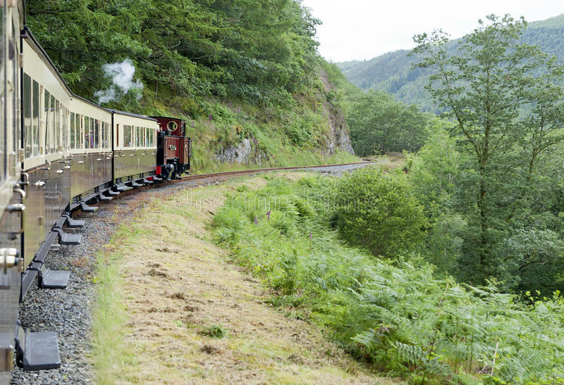Download Vale of Rheidol Railway stock photo. Image of north, united - 20112902
