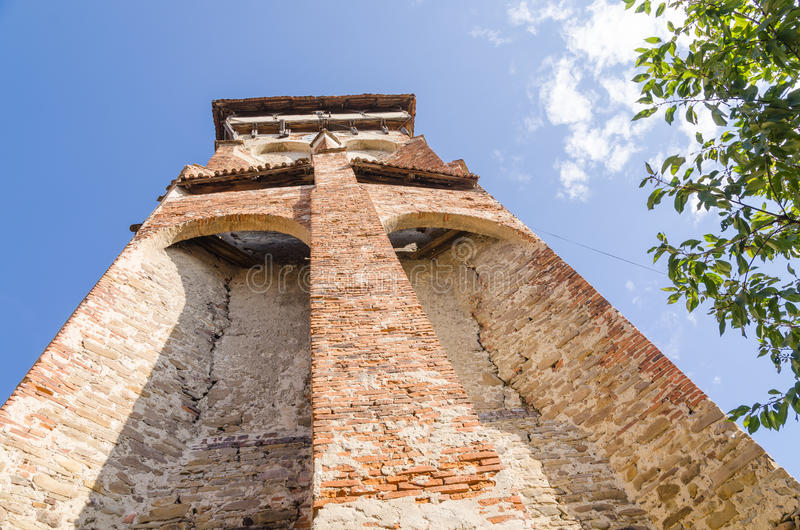 Valea Viilor Fortified Church royalty free stock photography