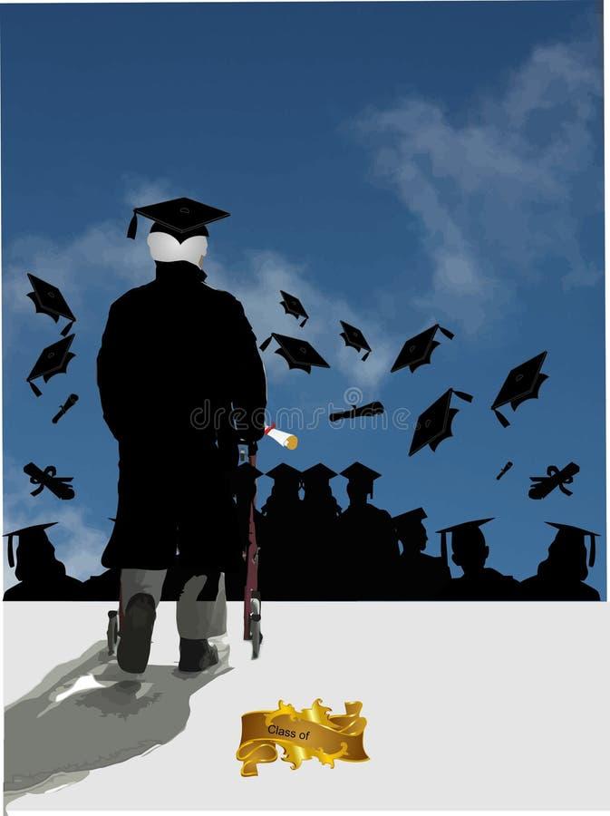Download The Valedictorian speech stock vector. Illustration of commemorative - 9307866