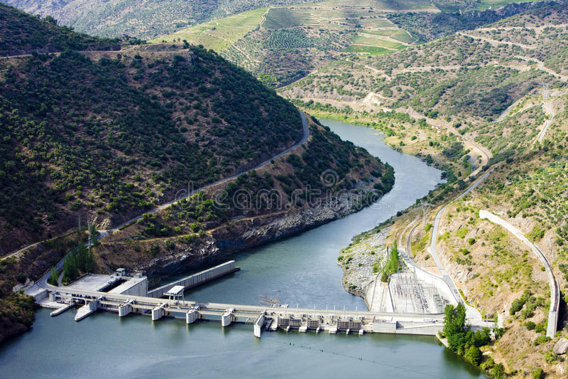 Download Valeira Barrier stock image. Image of outdoors, dams - 11594907